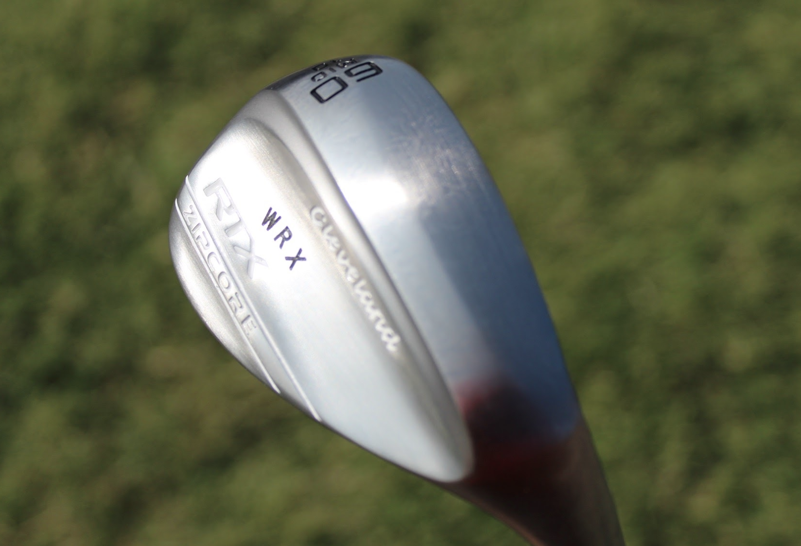 Cleveland Zipcore 2020 wedge raw grind