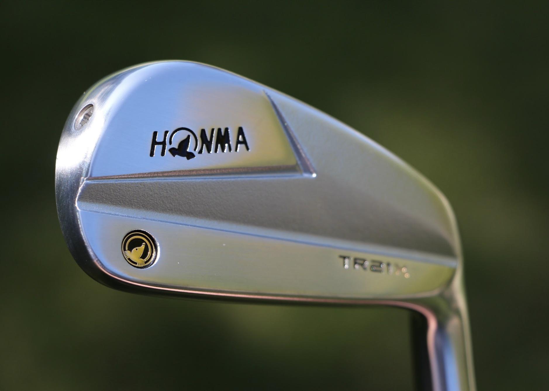 Honma TR21X Irons back