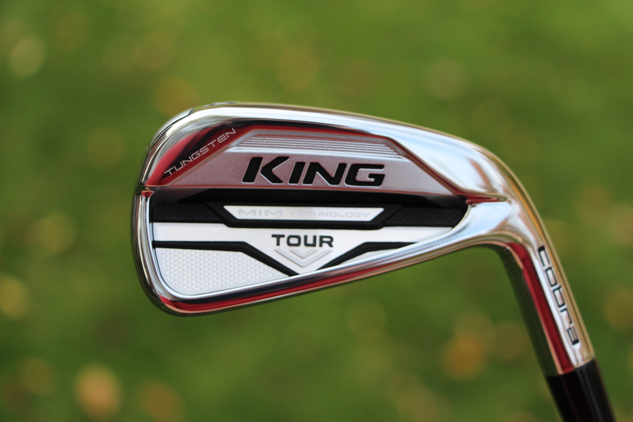 Cobra King Tour MIM 4-iron - cavity view