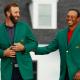 Dustin Johnson, Tiger Woods 2020 Masters