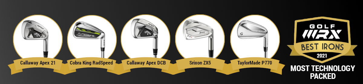 Best Irons 2021_Most Technology Packed